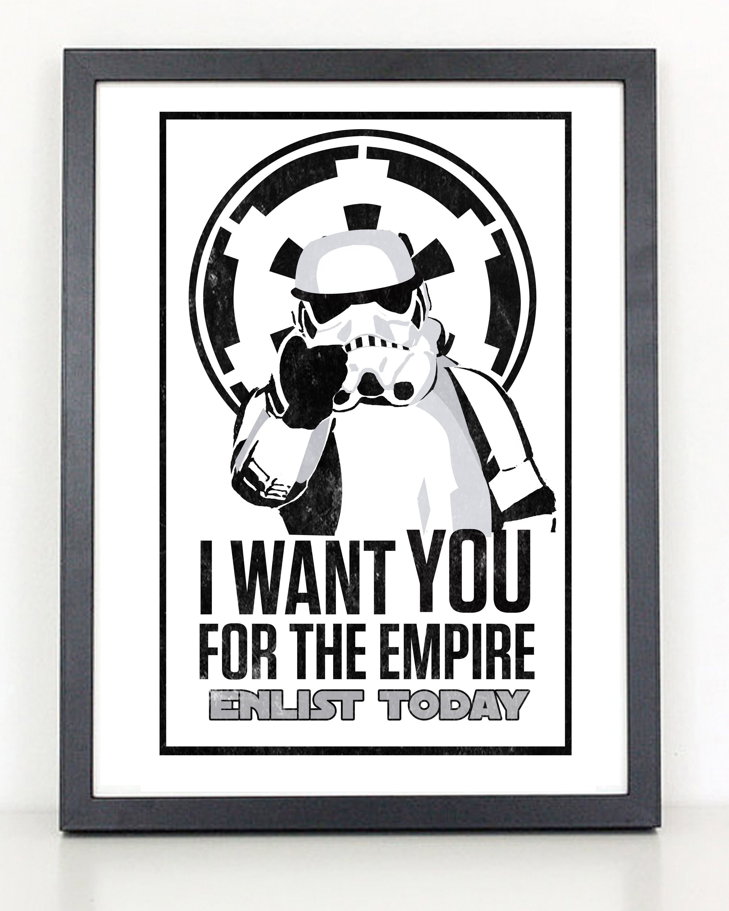 I Want You for the Empire - Star War Propaganda poster · Coliseum ...