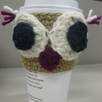 Oliver the Owl Coffee Cup Cozy