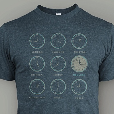 Time zones shirt