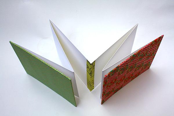 Jenni Oh Crafts Accordion Concertina Book Japanese Washi Paper