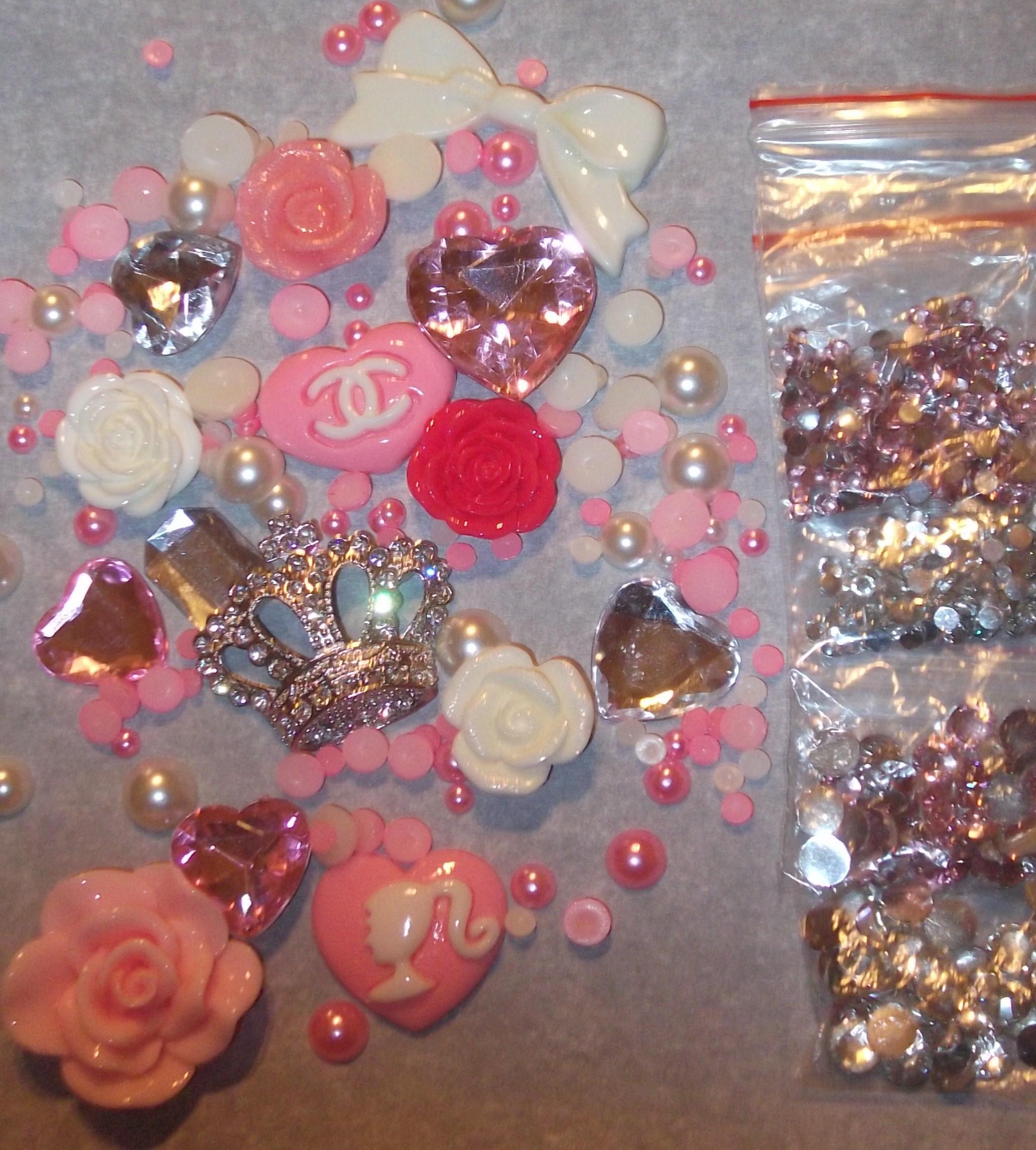 Barbie Nail Art Games Free Download: Pink DIY Princess Decoden Kit On Storenvy