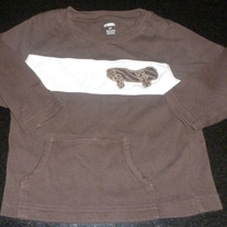 Brown Shirt With Skateboard-Gymboree Size 2T
