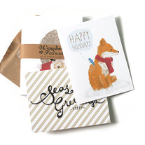 Mix Set of 6 Holiday Cards