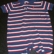 Navy/Red/White Romper-Ralph Lauren Polo Size 18 Months