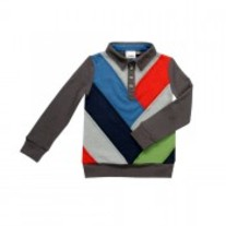 Fore! Axel & Hudson Patchwork Sweater