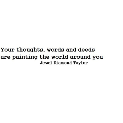 Thoughts, words, deeds