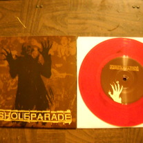 ASSHOLE PARADE 'say goodbye' 7'' *red wax
