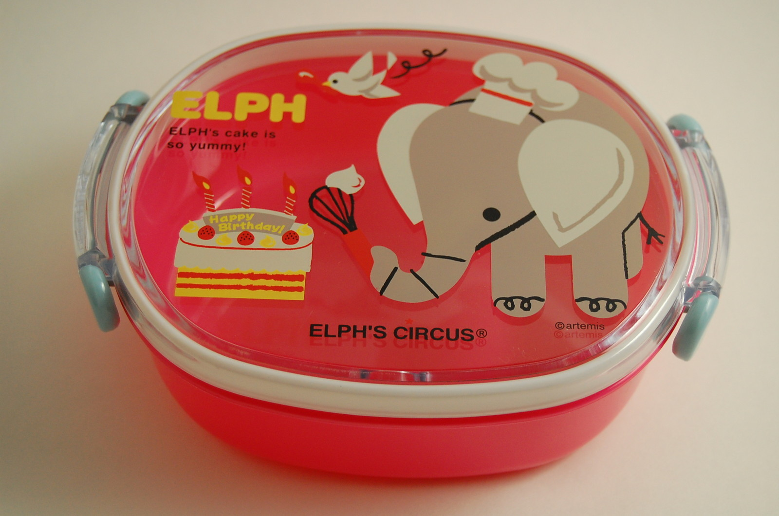 japanese lunch bento box elph 39 s circus elph cake free shipping thelittlebow online. Black Bedroom Furniture Sets. Home Design Ideas