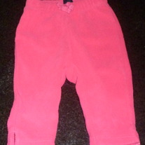 "Hot Pink ""Comfy"" Pants-Baby Gap Up to 3 Months"