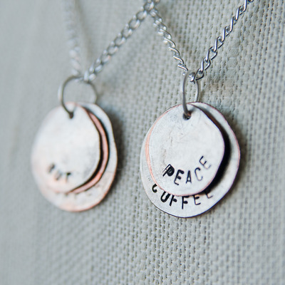 Coin necklace {coffee lover quotes}