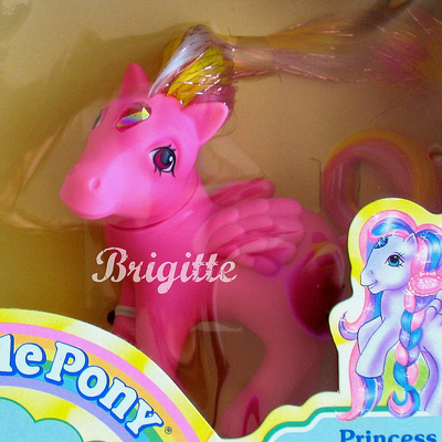 Mib g1 my little pony brush n' grow princess glittering gem