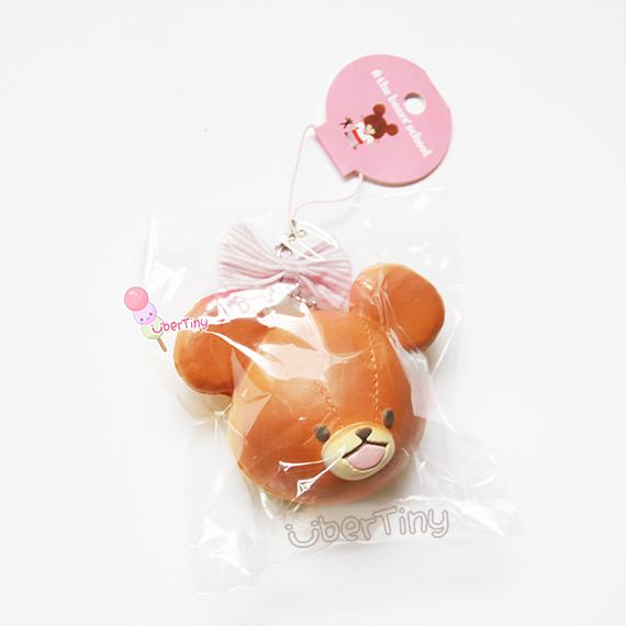 Squishy Licensed Jumbo : Rare* Bears  School Jumbo Head Mascot Squishy (Licensed Bandai) ? Uber Tiny ? Online Store ...