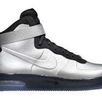NIKE FOAMPOSITE AIR FORCE 1 SILVER