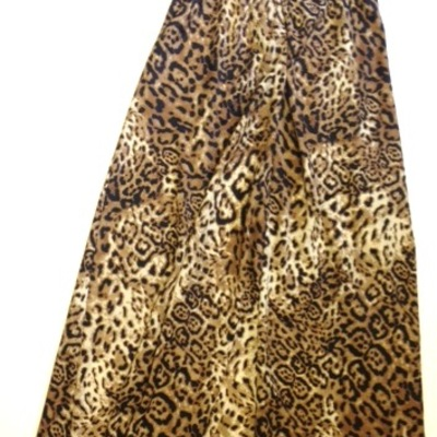 Resort maxi leopard