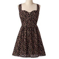 Modcloth Heart Cut-out Dress XS