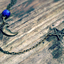 roxie. moon and star necklace