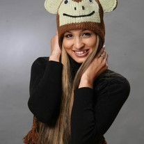 Brown Monkey Hat