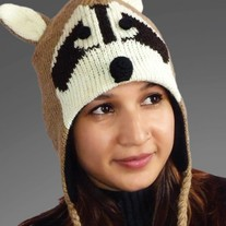 Brown Raccoon Hat