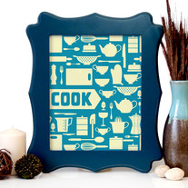 Image of COOK Art Print, 8 x 10