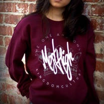 Most High Sweatshirt - Maroon