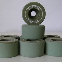 Cottrell Silentred Clay Roller Skate Wheels - Thumbnail 1