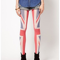 Union Jack Tights