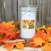 Autumn Leaves Jewelry Candle