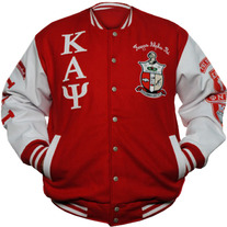NEW Kappa Alpha Psi Wool Varsity Letterman Jacket
