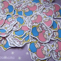 20 Little Twin Stars Sticker Flakes