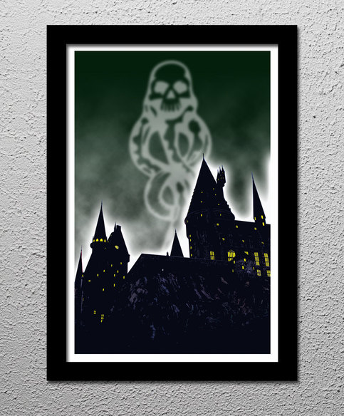 harry potter dark mark  u00b7 cultclassicposters com  u00b7 online