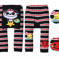 Panda Explorer Red Black White Legging Pants NEW STYLE for Girls and Boys