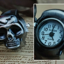 Skull Watch Ring