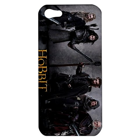 The hobbit an unexpected journey logo apple iphone 5 hard shell case