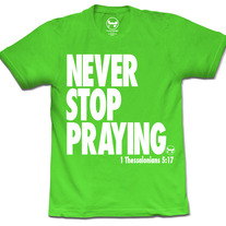 Never/Stop Praying (Neon Green)