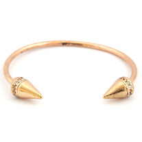 Spiked Bangle (Rose Gold)