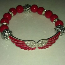 Red Wings Bracelet