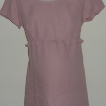 Pink Top with Ruffle-Tomorrow's Mother Size Medium