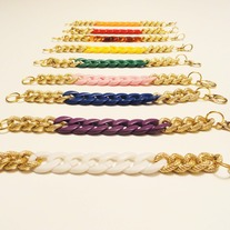 Chunky Chain Bracelet Pick a Color FREE SHIPPING