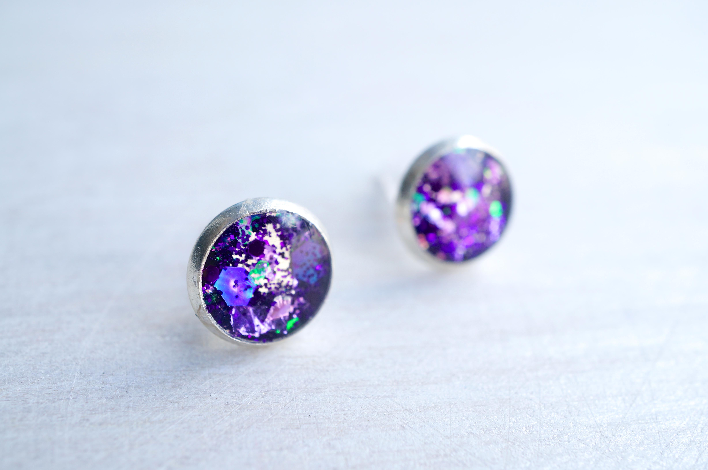 Small Purple Glitter Silver Stud Earrings · White Bear. Neck Pendant. Byzantine Bracelet. Velvet Beads. 18 Carat Engagement Rings. Signature Necklace. Sailing Watches. Diamond Band Ring. Romantic Engagement Rings