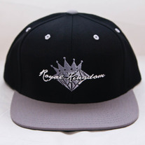 Diamond King Snapback (Grey/White)