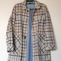Coach Plaid Jacket