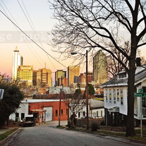 Downtown Raleigh Dusk, 8x10 Print