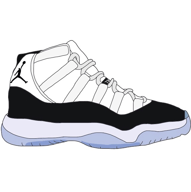 Cartoon Shoes Jordans