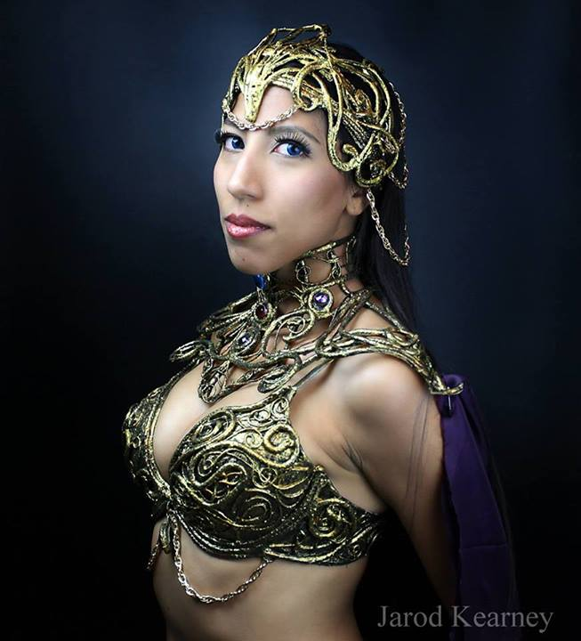 Risk Princess of mars dejah thoris cosplay