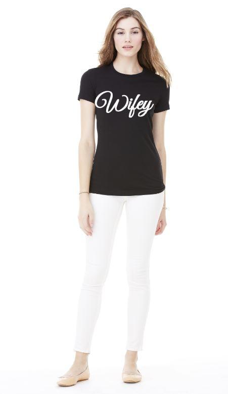 Wifey t shirt l tee designs online store powered by for T shirt design online store