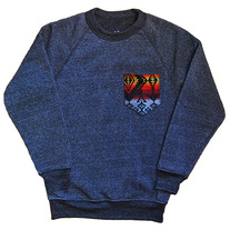 Crewneck with Pendleton Pocket