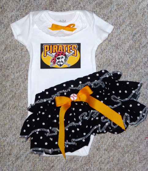 Girls Pittsburgh Pirates Gameday Outfit, Baby Girls Come