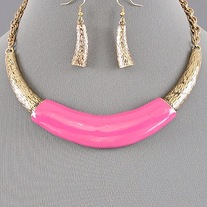 Bib Necklace Set