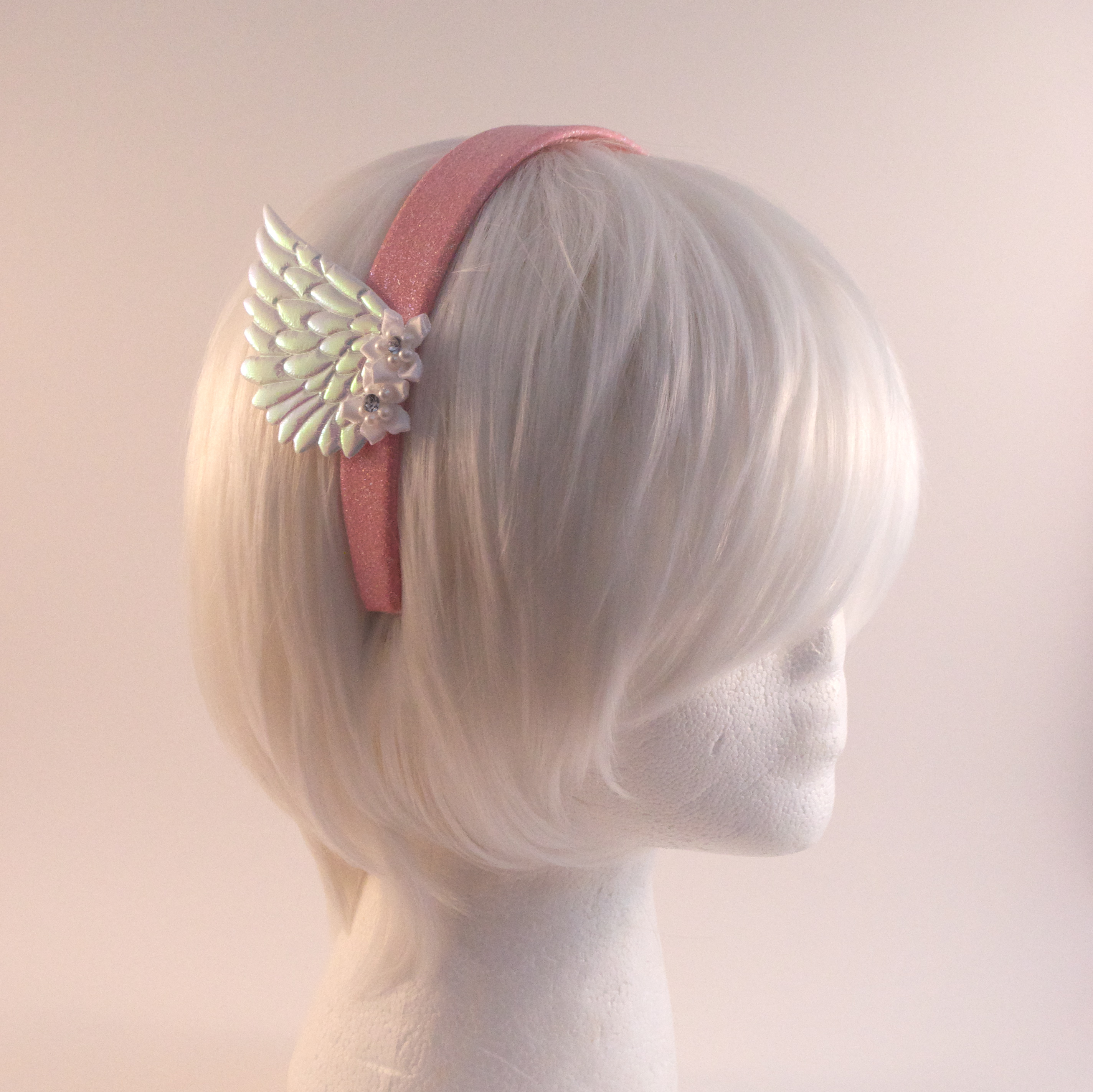 The Camp Site Pink And White Flower Valkyrie Headband Online