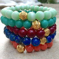 Set of Stacked Bracelets